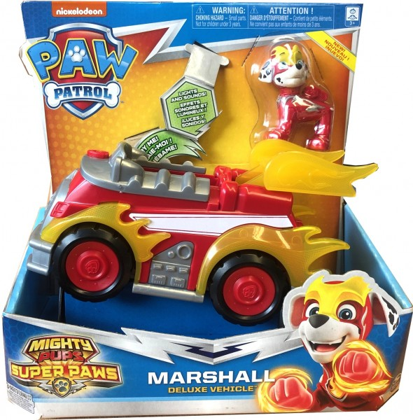 Paw Patrol Mighty Pups Super Paws Marshall Deluxe 20115476