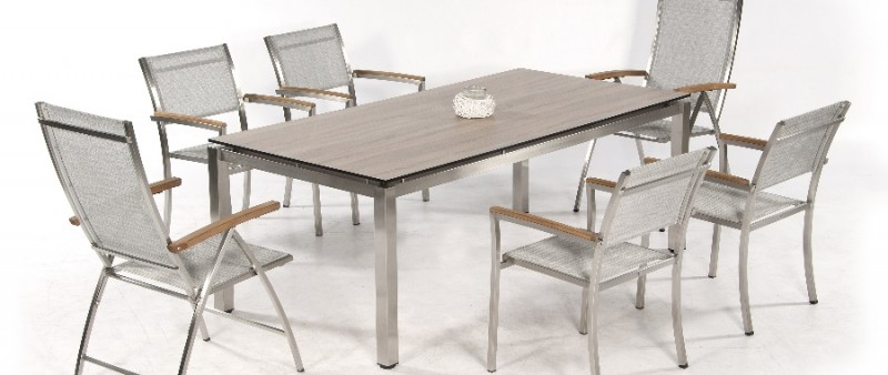 Edelstahl Gartenmöbel Sessel Und Tische Wwwgongoll Shopde